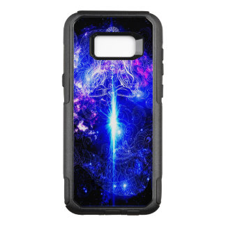 Funda Commuter De OtterBox Para Samsung Galaxy S8+ Koi iridiscente cósmico