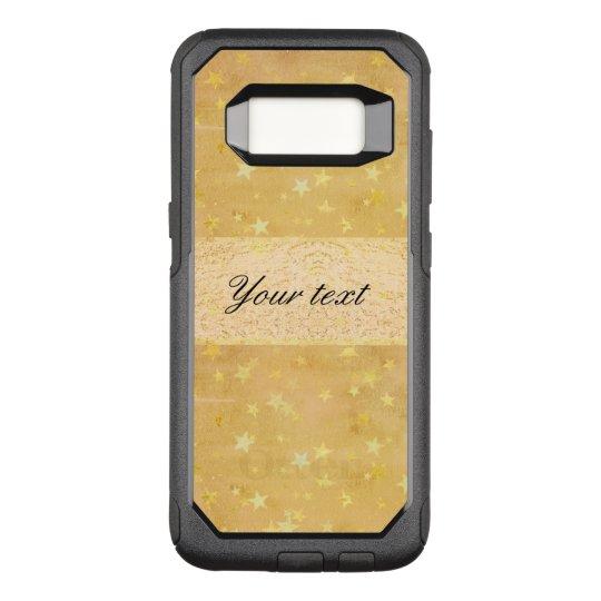 Funda Commuter De OtterBox Para Samsung Galaxy S8 La hoja de oro personalizada protagoniza la