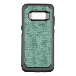 Funda Commuter De OtterBox Para Samsung Galaxy S8 La mirada de la textura azul de la armadura de la