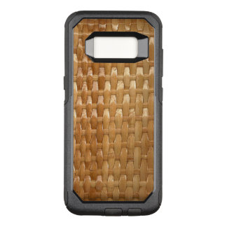 Funda Commuter De OtterBox Para Samsung Galaxy S8 La mirada de la textura de mimbre de Basketweave
