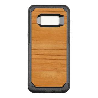 Funda Commuter De OtterBox Para Samsung Galaxy S8 La mirada de la textura del grano de madera de