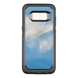Funda Commuter De OtterBox Para Samsung Galaxy S8 La pluma blanca refleja en el agua el | Seabeck,