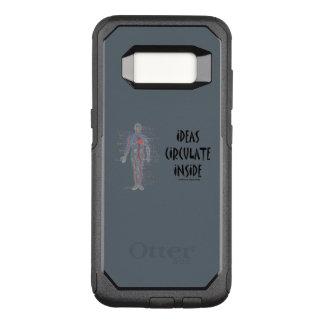 Funda Commuter De OtterBox Para Samsung Galaxy S8 Las ideas circulan dentro de humor del sistema