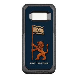 Funda Commuter De OtterBox Para Samsung Galaxy S8 León de Jerusalén con la bandera