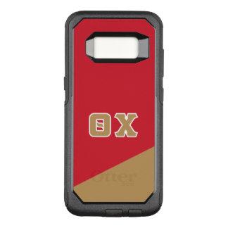 Funda Commuter De OtterBox Para Samsung Galaxy S8 Letras del Griego de la ji el | de la theta