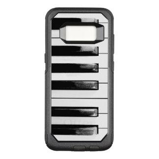Funda Commuter De OtterBox Para Samsung Galaxy S8 Llaves antiguas del piano