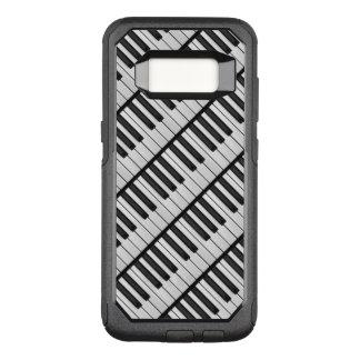 Funda Commuter De OtterBox Para Samsung Galaxy S8 Llaves negras y blancas del piano