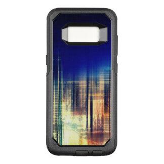 Funda Commuter De OtterBox Para Samsung Galaxy S8 Luces de la ciudad
