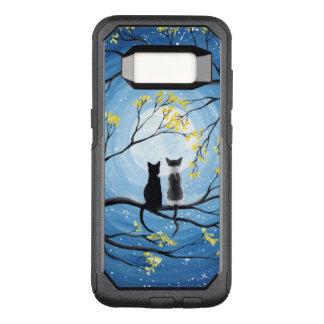 Funda Commuter De OtterBox Para Samsung Galaxy S8 Luna caprichosa con los gatos