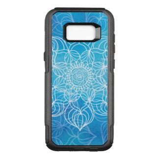 Funda Commuter De OtterBox Para Samsung Galaxy S8+ Mandala azul