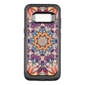 Funda Commuter De OtterBox Para Samsung Galaxy S8 Mandala colorida