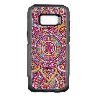 Funda Commuter De OtterBox Para Samsung Galaxy S8+ Mandala colorida