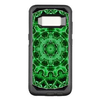 Funda Commuter De OtterBox Para Samsung Galaxy S8 Mandala de la estrella de la gema