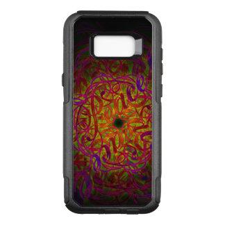 """Funda Commuter De OtterBox Para Samsung Galaxy S8+ Mandala de la inspiración - """"paz """""""
