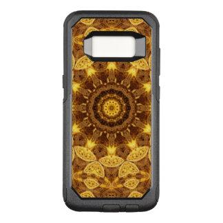 Funda Commuter De OtterBox Para Samsung Galaxy S8 Mandala del corazón de oro