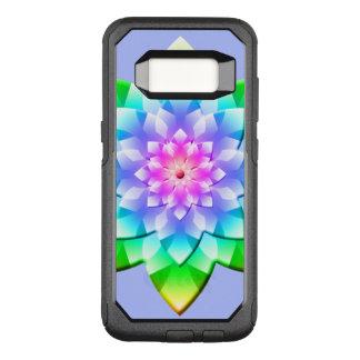 Funda Commuter De OtterBox Para Samsung Galaxy S8 Mandala del flor