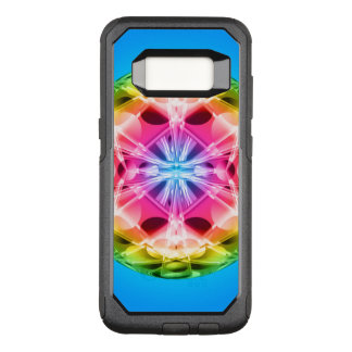 Funda Commuter De OtterBox Para Samsung Galaxy S8 Mandala del orbe del arco iris