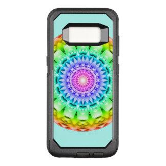 Funda Commuter De OtterBox Para Samsung Galaxy S8 Mandala del pulso del arco iris