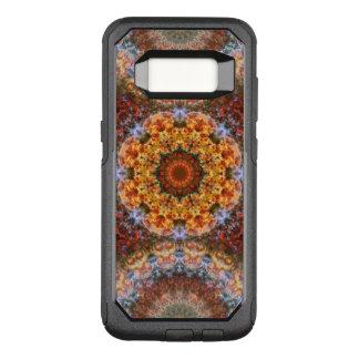 Funda Commuter De OtterBox Para Samsung Galaxy S8 Mandala galáctica magnífica de la alineación