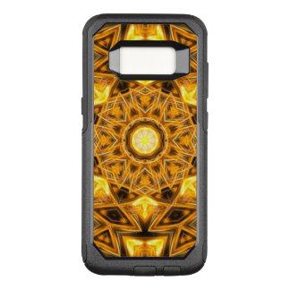 Funda Commuter De OtterBox Para Samsung Galaxy S8 Mandala líquida del oro