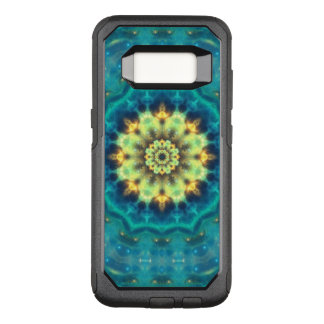 Funda Commuter De OtterBox Para Samsung Galaxy S8 Mandala ocultada de Lotus
