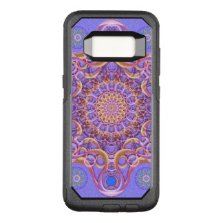 Funda Commuter De OtterBox Para Samsung Galaxy S8 Mandala real del sello