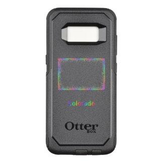 Funda Commuter De OtterBox Para Samsung Galaxy S8 Mapa de Colorado del arco iris