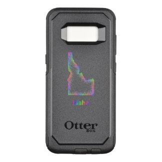 Funda Commuter De OtterBox Para Samsung Galaxy S8 Mapa de Idaho del arco iris
