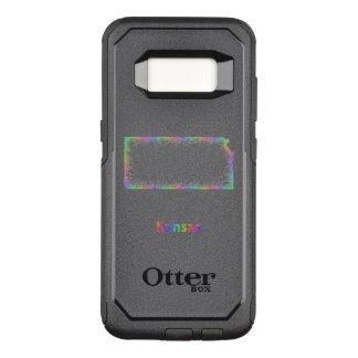 Funda Commuter De OtterBox Para Samsung Galaxy S8 Mapa de Kansas del arco iris