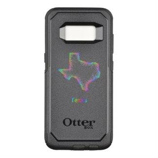 Funda Commuter De OtterBox Para Samsung Galaxy S8 Mapa de Tejas del arco iris