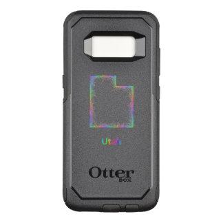 Funda Commuter De OtterBox Para Samsung Galaxy S8 Mapa de Utah del arco iris