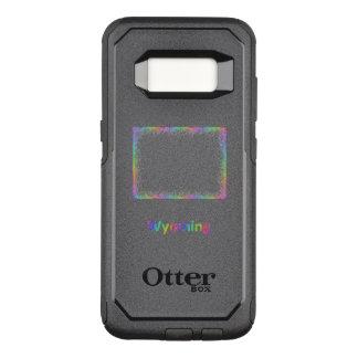 Funda Commuter De OtterBox Para Samsung Galaxy S8 Mapa de Wyoming del arco iris