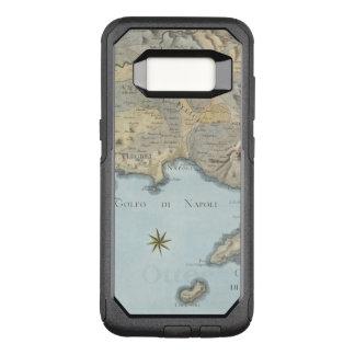 Funda Commuter De OtterBox Para Samsung Galaxy S8 Mapa del golfo de Nápoles y de los alrededores