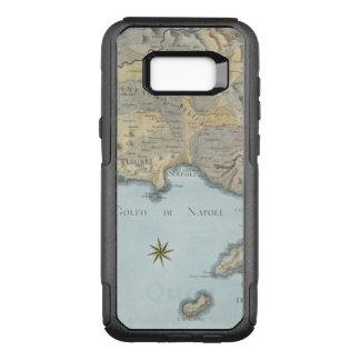 Funda Commuter De OtterBox Para Samsung Galaxy S8+ Mapa del golfo de Nápoles y de los alrededores