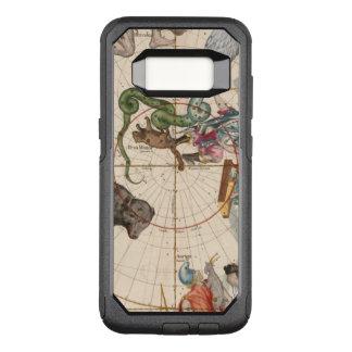 Funda Commuter De OtterBox Para Samsung Galaxy S8 Mapa del vintage del Polo Norte
