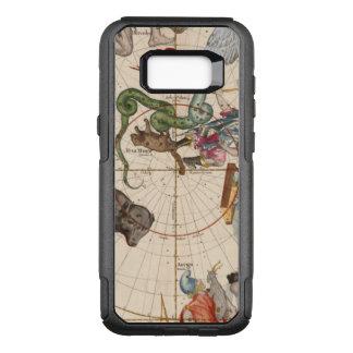 Funda Commuter De OtterBox Para Samsung Galaxy S8+ Mapa del vintage del Polo Norte