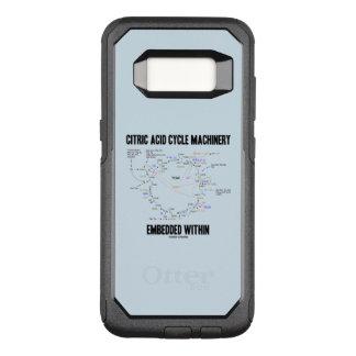Funda Commuter De OtterBox Para Samsung Galaxy S8 Maquinaria del ciclo de ácido cítrico encajada