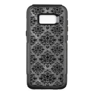Funda Commuter De OtterBox Para Samsung Galaxy S8+ Mini gris del negro del modelo del damasco del