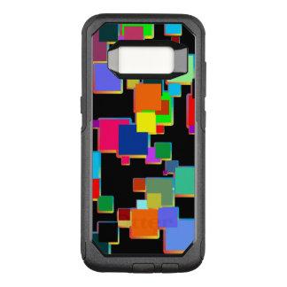 Funda Commuter De OtterBox Para Samsung Galaxy S8 Minimalists cuadrados con pendiente del contorno