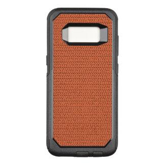 Funda Commuter De OtterBox Para Samsung Galaxy S8 Mirada coralina de color salmón de la malla de la