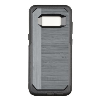 Funda Commuter De OtterBox Para Samsung Galaxy S8 Mirada de madera del grano de la frontera de bambú