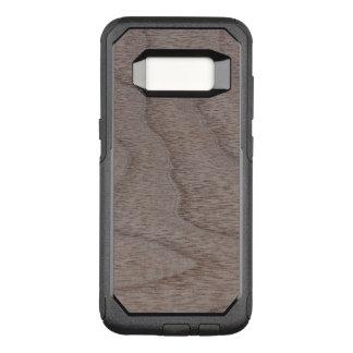 Funda Commuter De OtterBox Para Samsung Galaxy S8 Mirada de madera del grano de la nuez blanca