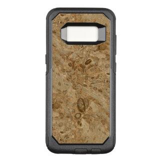Funda Commuter De OtterBox Para Samsung Galaxy S8 Mirada fósil de mármol de Brown