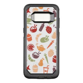Funda Commuter De OtterBox Para Samsung Galaxy S8 Modelo 2 de la comida