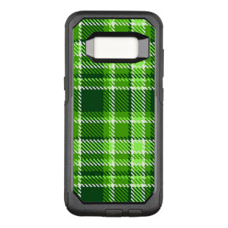 Funda Commuter De OtterBox Para Samsung Galaxy S8 Modelo a cuadros del color verde