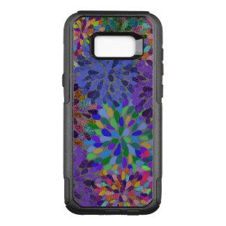 Funda Commuter De OtterBox Para Samsung Galaxy S8+ Modelo abstracto de neón