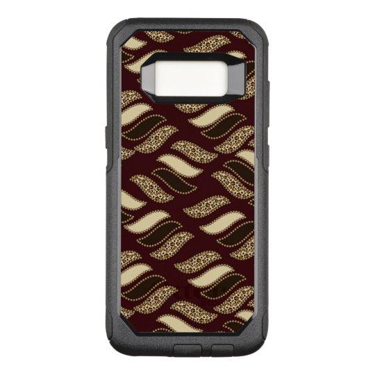 Funda Commuter De OtterBox Para Samsung Galaxy S8 Modelo africano de la piel del guepardo