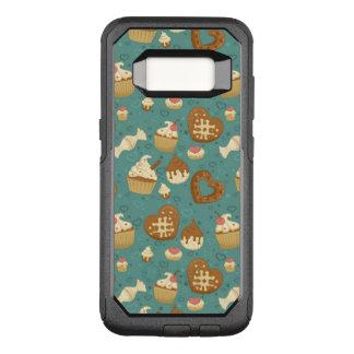 Funda Commuter De OtterBox Para Samsung Galaxy S8 Modelo con las magdalenas y los caramelos