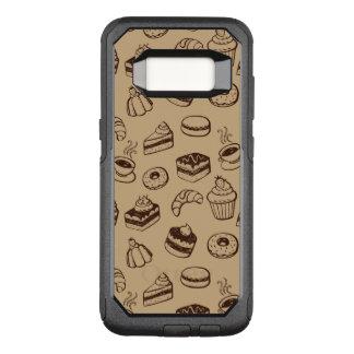 Funda Commuter De OtterBox Para Samsung Galaxy S8 Modelo con las tortas, los postres y la panadería