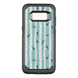 Funda Commuter De OtterBox Para Samsung Galaxy S8 Modelo con los pájaros y los árboles